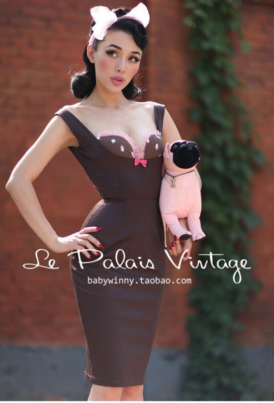 Le palais vintage (taobao) - Pinup dress for Sale in Las ...