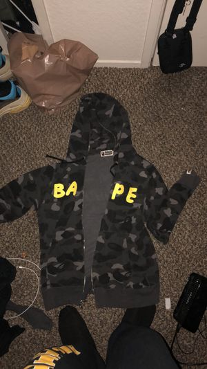 3f88958563e New and Used Bape hoodie for Sale in Stockton