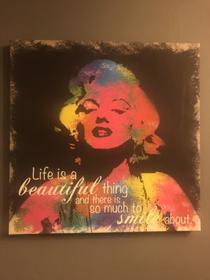 Marilyn Monroe quote/picture for Sale in Alexandria, VA