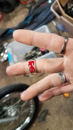 Harley Davidson womens ring Thumbnail