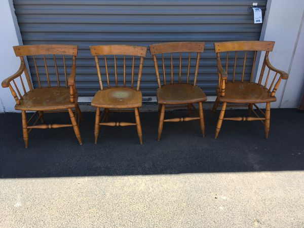 4 wood chairs for sale in chandler az offerup