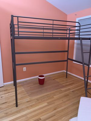 Twin loft bed. Already disassembled. for Sale in Reston, VA