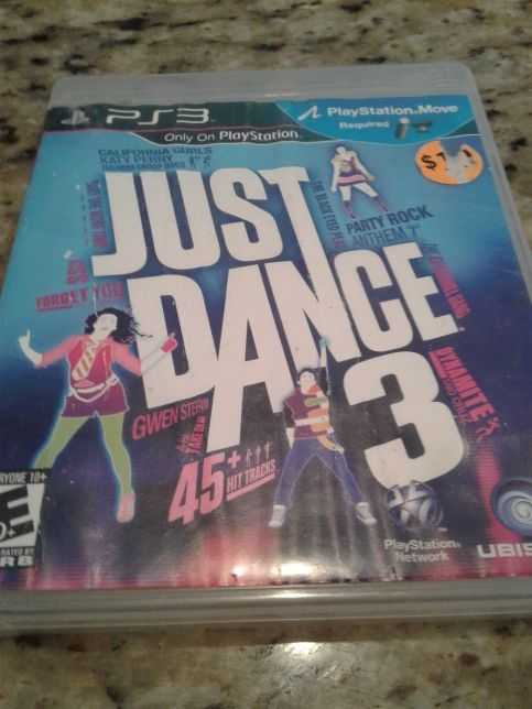PS3 JUST DANCE VIDEO GAME $5.00