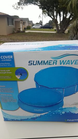 10-15ft pool cover for Sale in Port Richey, FL