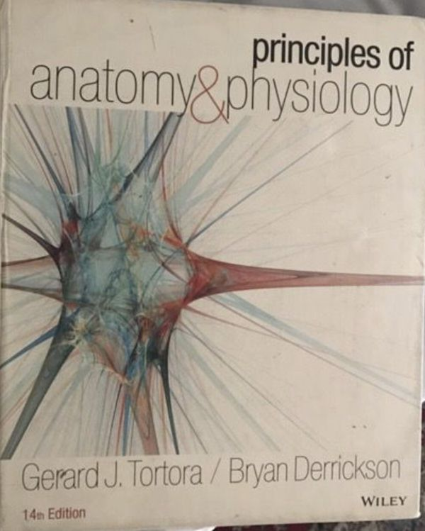 Anatomy and physiology by Gerard Tortora 14 edition for Sale in ...