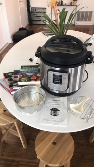 Instant Pot, Accessories and 4 cookbooks for Sale in Philadelphia, PA