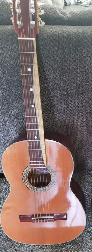 Handmade acoustic guitar hecha a mano guitarra for Sale in Hesperia, CA