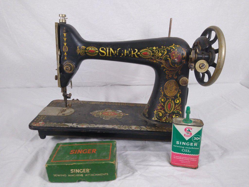 Antique 1910 Singer Sewing Machine G Series G0469742