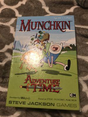 Munchkin adventure time board game for Sale in Fairfax, VA