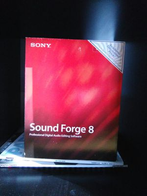 Sound Forge 8 for Sale in Seattle, WA