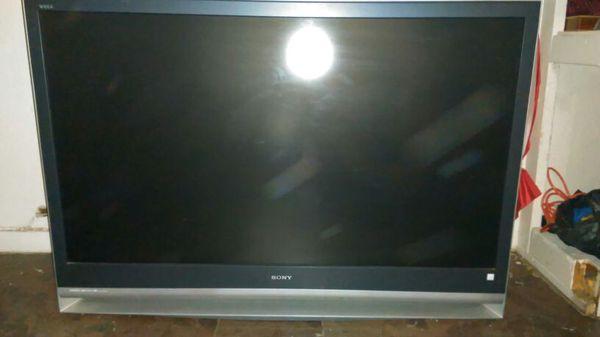 Sony Wega Tv 55inch For Sale In San Antonio Tx Offerup