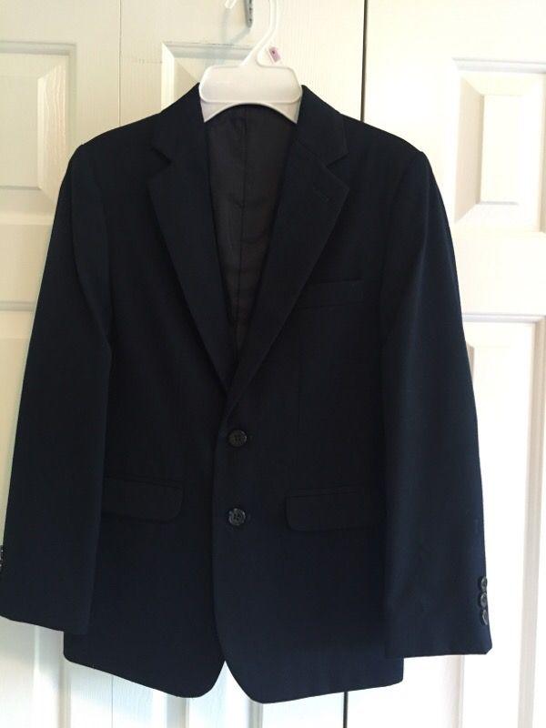 Van Heusen - Boys Jacket - Size 12 Reg - Navy