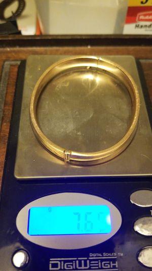 GOLD ANTIQUE BRACELET MADE IN 1914 for Sale in Springfield, VA