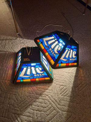 Photo Pool table lights