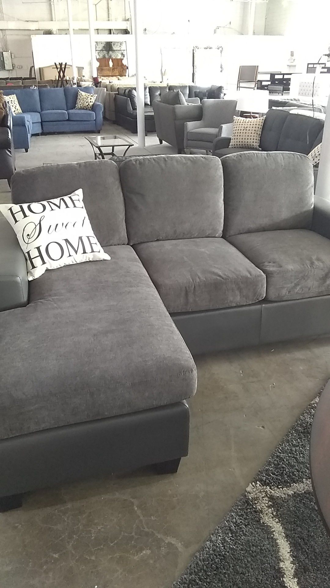 Super awesome reversible sectional
