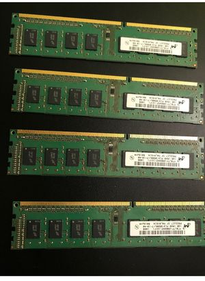 4x, 1GB ram sticks for Sale in Stoughton, MA