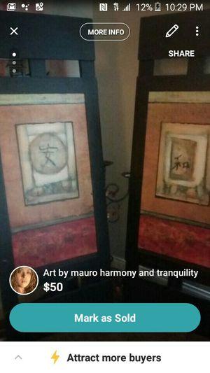 Mauro original prints customer framed. for Sale in Las Vegas, NV