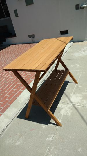 Simple Potting Bench / Console Table for Sale in Huntington Park, CA