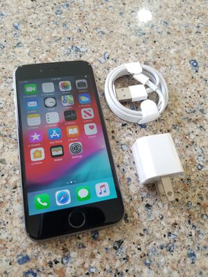 Photo UNLOCKED IPHONE 6, 16GB BLACK (THIS IS NOT THE PLUS) PERFECT CONDITIONS !!! PRICE IS FIRM !!!