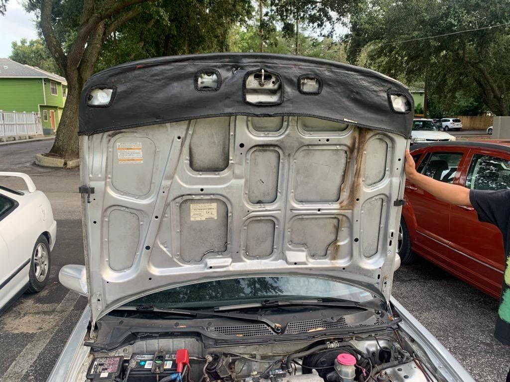 98-00 Acura integra hood bra