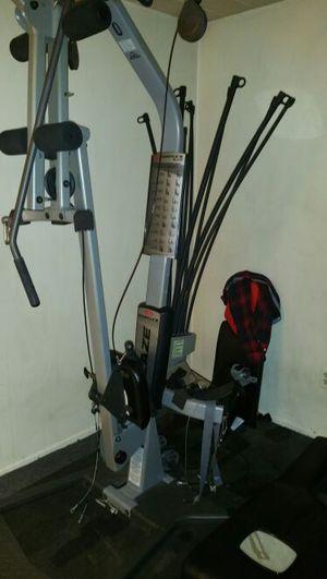 Bow flex blaze home gym with mat for Sale in Detroit, MI