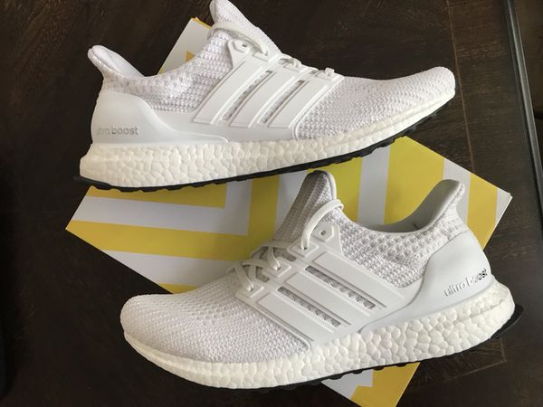 timeless design a30ef 08315 Mens Adidas Ultra Boost 4.0 Triple White BB6168 for Sale in Santa Clara, CA  - OfferUp