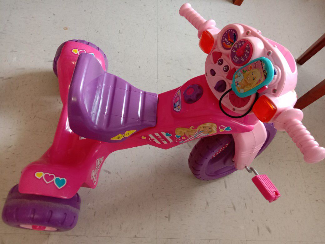 Toy bicycle for children