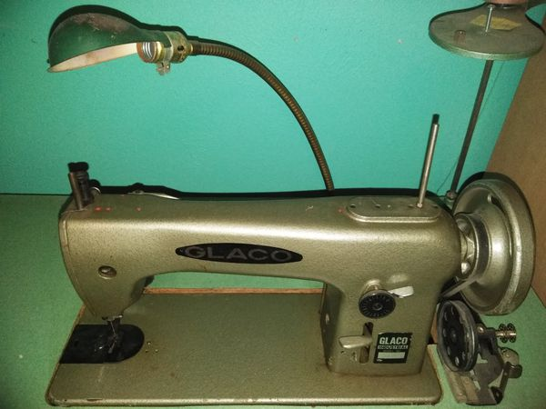 Glaco Model 4040 Industrial Sewing Machine For Sale In Mesquite TX Delectable Glaco Industrial Sewing Machine