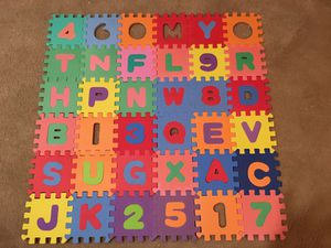Foam play mat puzzle for Sale in Darnestown, MD