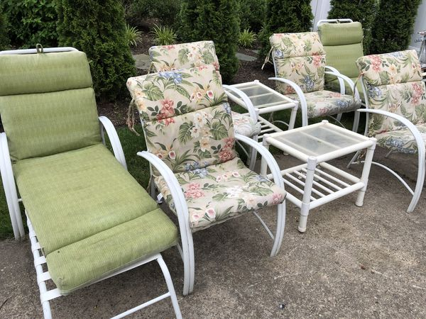 winston patio furniture set 8 pieces with 6 cushions for sale in cinnaminson nj offerup - Winston Patio Furniture