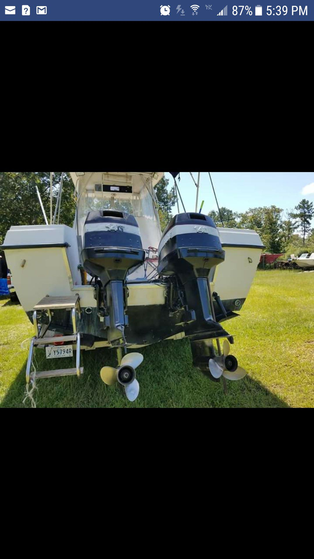 Photo 1989 White Grady White Pleasure Boat for Sale