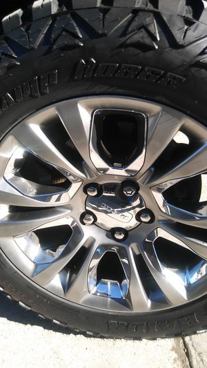 "WANTING: Ram 20"" oem wheels for Sale in Garland, TX"