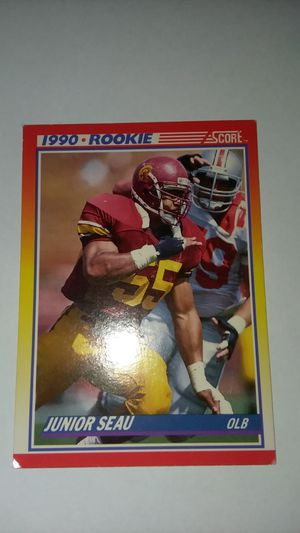 1990 Rookie Junior Seau Football Card for Sale in Alexandria, VA