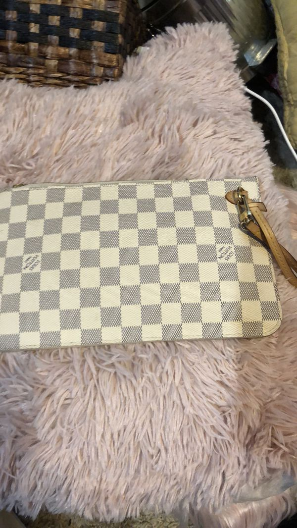 ac3800c97e8e8 LOUIS VUITTON Damier Azur Neverfull MM GM Pochette for Sale in ...
