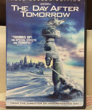 The day after tomorrow DVD for Sale in Miami, FL