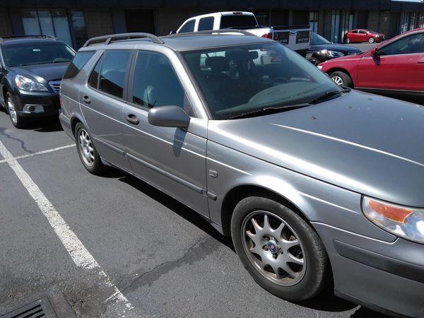 2001 Saab 9 5 Turbo Station Wagon 144 K Clean Tittle Runs But Has A