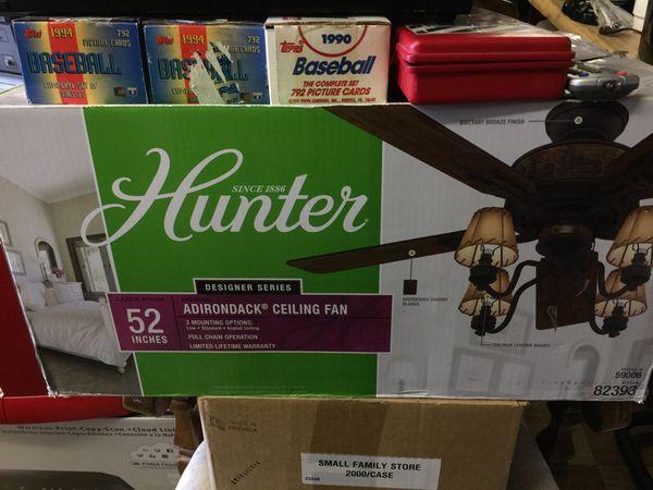Hunter adirondack ceiling fan for sale in allentown pa offerup aloadofball Gallery