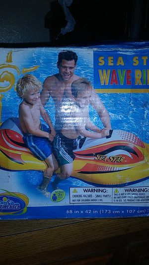 Photo The Wet set sea star wave Rider for ages 3+years