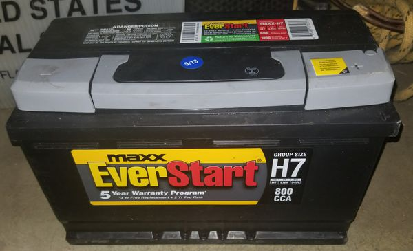 Brand New Car Battery EverStart Maxx-H7 790 CCA Retail $149- for Sale in  Scottsdale, AZ - OfferUp