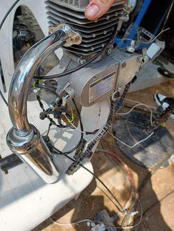 Gas Bike Motor  Thumbnail
