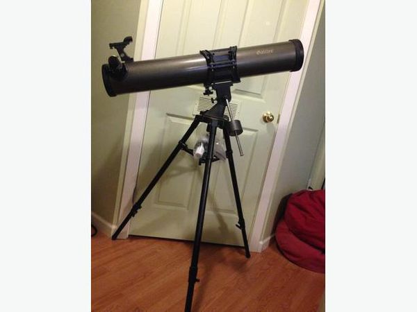 Galileo fs 125dx reflector telescope with lenses for sale in stone