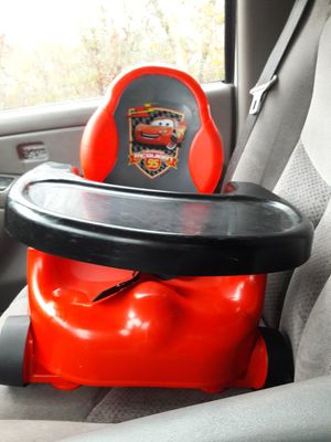 Red And Black Lightning Mcqueen Booster Seat For Sale In Augusta GA