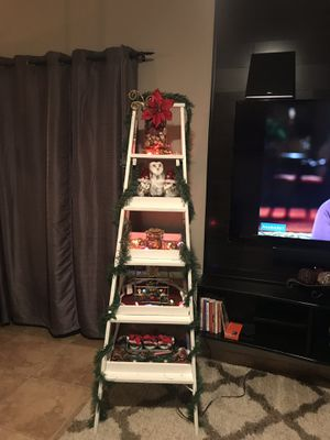 no more hassle putting the tree 🌲 up get this decor ladder and decorate for any occasion or room 💃🏻😍decor not included for Sale in Orlando, FL