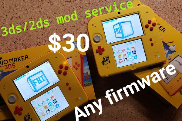 Nintendo 3ds/2ds mod, cfw for Sale in Stanton, CA - OfferUp