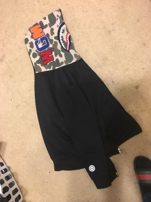 Bape WGM Hoodie LARGE for Sale in Alexandria, VA