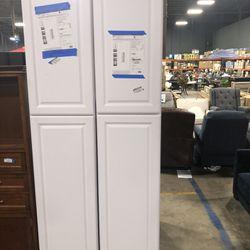 😍Shaker Ready To Assemble 18in. W x 90in. H x 24in. D Plywood Pantry Kitchen Cabinet😍 Thumbnail