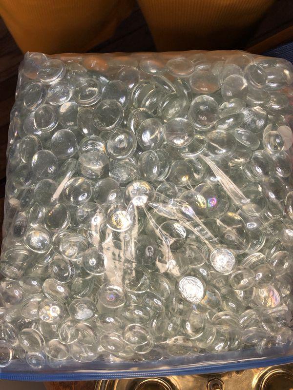 36 Wedding Cylinder Glass Vases Marble Pebble Vase Filler W 24