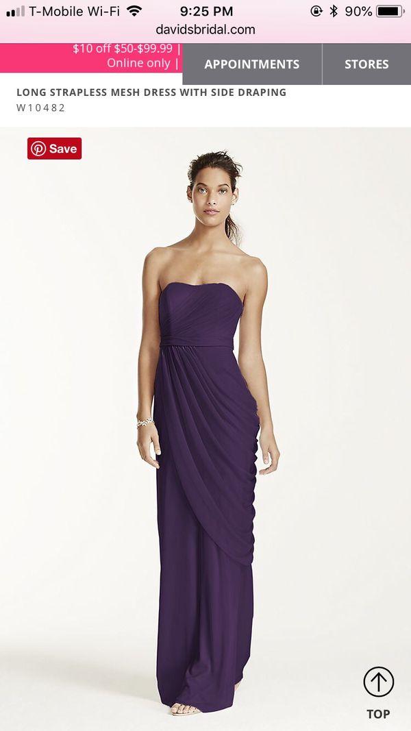 Bridesmaid Dresses Mn | Plum Bridesmaid Dress For Sale In Saint Paul Mn Offerup
