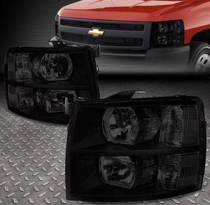 2007~14 Chevy Silverado smoked headlights 🚚🚚 for Sale in East Los Angeles, CA