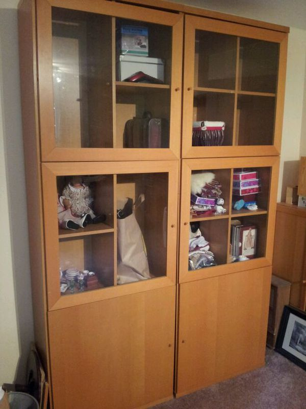 Ikea Bonde Bookcases Display Cabinets For Sale In